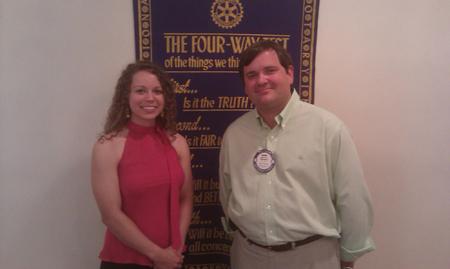 Rotary Scholar Sarah Hamilton