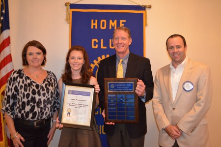 Emily Muehlenfeld, Rotary Public Safety Employee of the Year