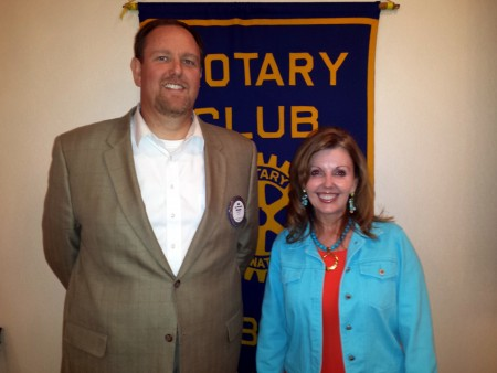 Rotary Hosts Best-Selling Author Ronda Rich