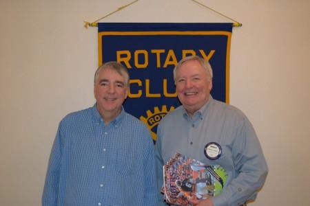Mark Murphy speaks to Auburn Rotary Club