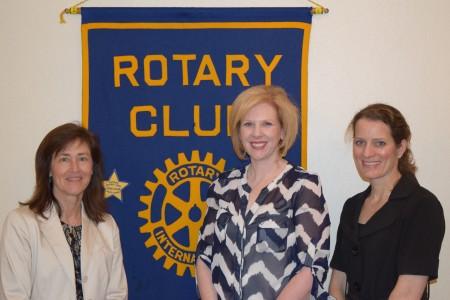 Our House board members speak to Auburn Rotary Club