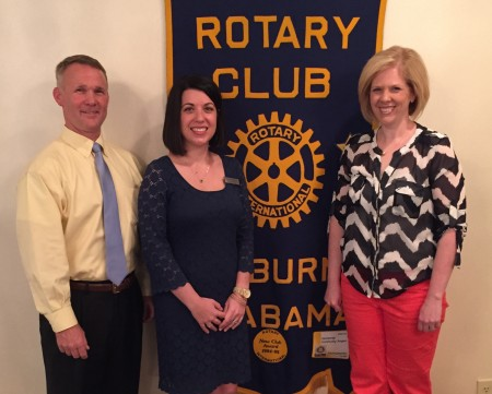 Auburn Rotary Club recognizes Auburn City School's Teacher of the Year