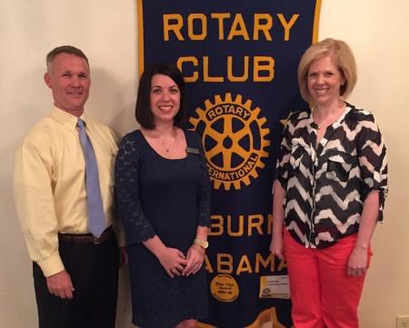 Auburn Rotary Club recognizes Auburn City School's Teacher of the Year