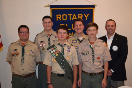 Boy Scout Troop 50 Makes Annual Report