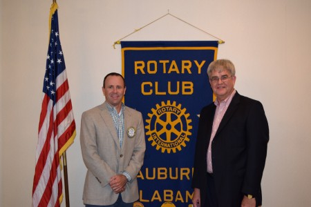 Randall Clark, PhD  presented a session on Designer Drugs to the Auburn Rotary Club