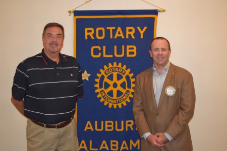 Bill Cameron, Host of The Drive, Speaks to Auburn Rotary Club