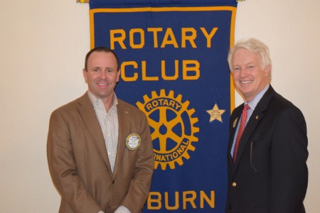 Rotary Disctrict Governor Michael Chambers