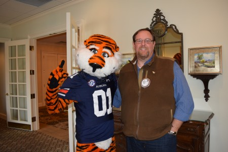 Special Aubie History Program presented to the Auburn Rotary Club