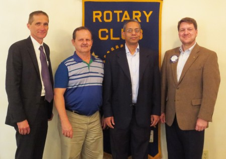 Director of the Water Resources Center at Auburn University, Puneet Srivastava, and the Director of the Alabama Water Wa