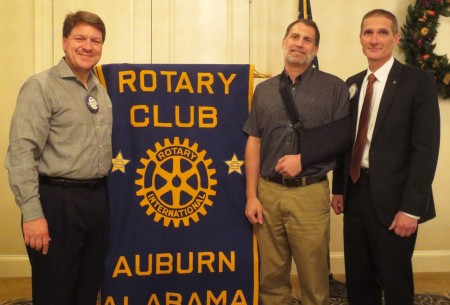 Auburn University College of Agriculture professor and Alabama Cooperative Extension System specialist Ken Macklin