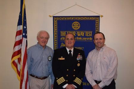 Captain Paul (Puck) Esposito, Commanding Officer, Auburn/Tuskegee Consortium Navy ROTC