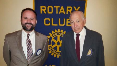 Auburn Rotarian Tom Vaughn