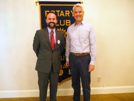 The Rotary Club of Auburn Alabama hosted Jeff Shearer