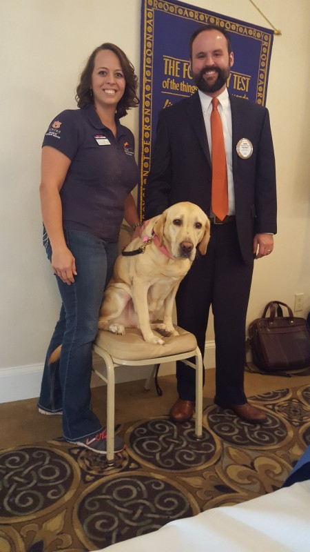 Pam Haney of Auburn University's Canine Performance Services