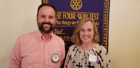 Auburn Rotary Club hosted Carolyn Fichtner
