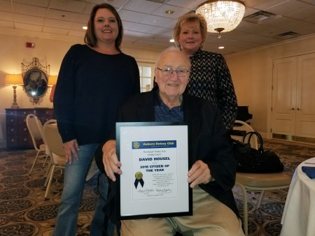Auburn Rotary selects Housel as Citizen of the Year