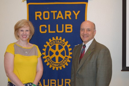 Rotary Welcomes Edward Loewenstein of Auburn University's School of Forestry and Wildlife Sciences