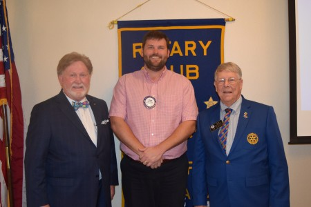 Rotary District Governor Skip Dotherow