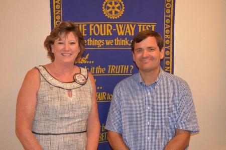 Shawn Asmuth on Auburn Rotary Club