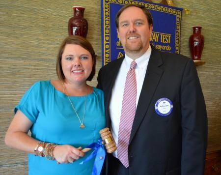 Jim McLaughlin New Auburn Rotary Club President