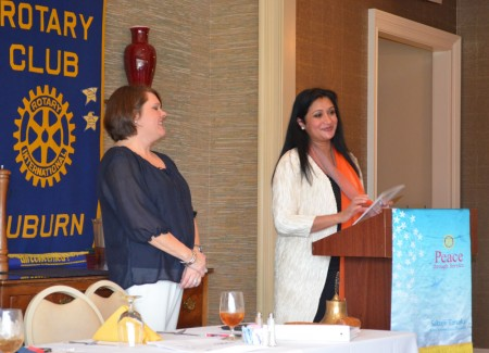 Rotary Welcomes New Member, Dr. Vini Nathan